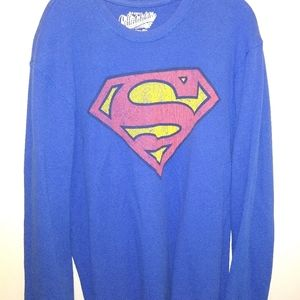 Old Navy Superman thermal